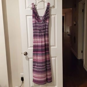 LOVEAPPELLA Carlita Knit Maxi Dress Size: M